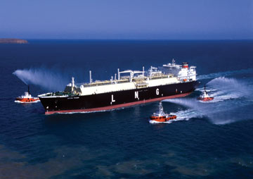 Gas And Oil Mix >> A double-hulled transport ship