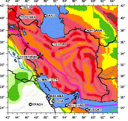 after an evening of precursory tremors a magnitude 61 earthquake struck western iran today at local time 447 am according to the us geological